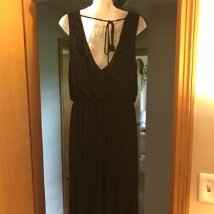 The Loft Black knit dress